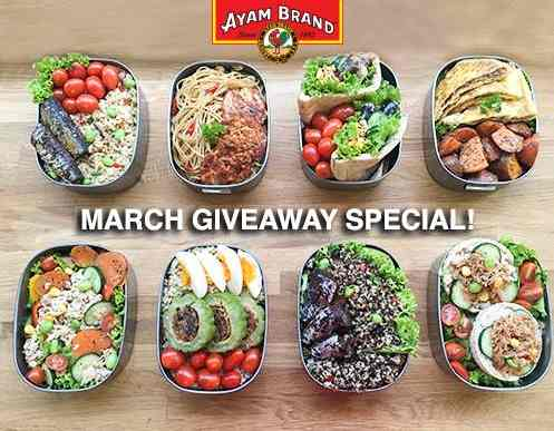 Giving away 5 CARTONS of Ayam Brand Chilli Tuna Light at Ayam Brand Singapore