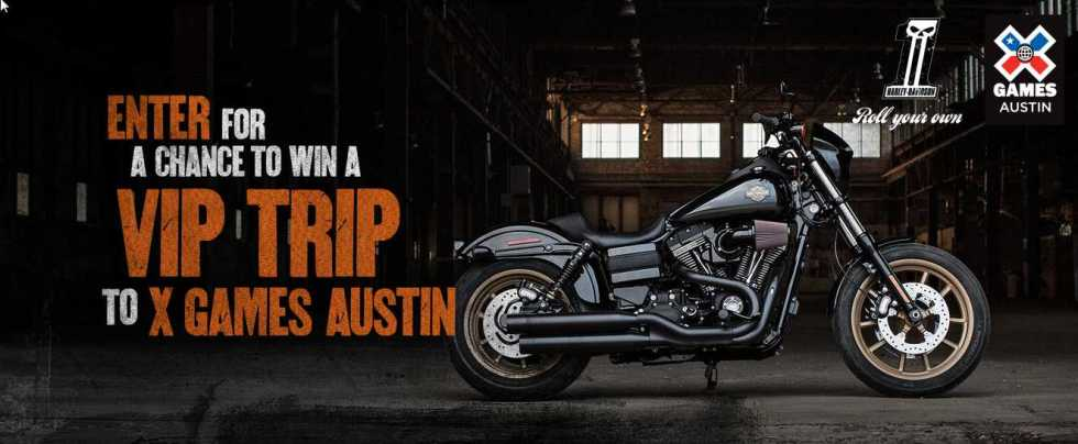 HARLEY-DAVIDSON® X Games SWEEPSTAKES