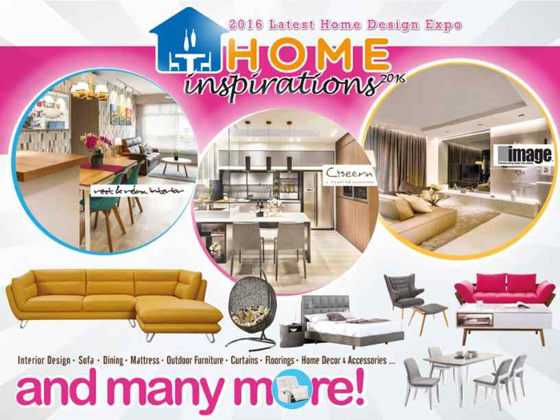 Stand a chance to win a staycation worth $300 at Home Inspirations 2016