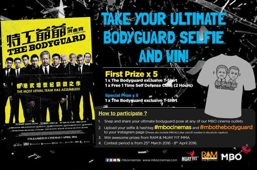 The Bodyguard Contest by MBO Cinemas #Malaysia