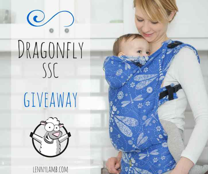 #WIN a LennyLamb carrier with a springtime design - Dragonfly