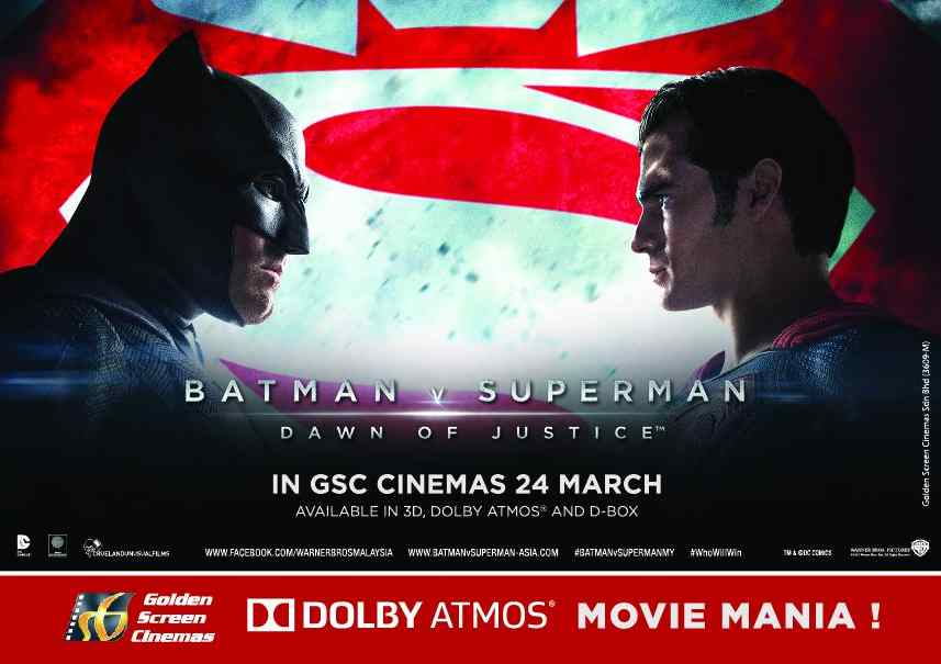 Want to experience Batman v Superman Dawn of Justice in #DolbyAtmos for FREE