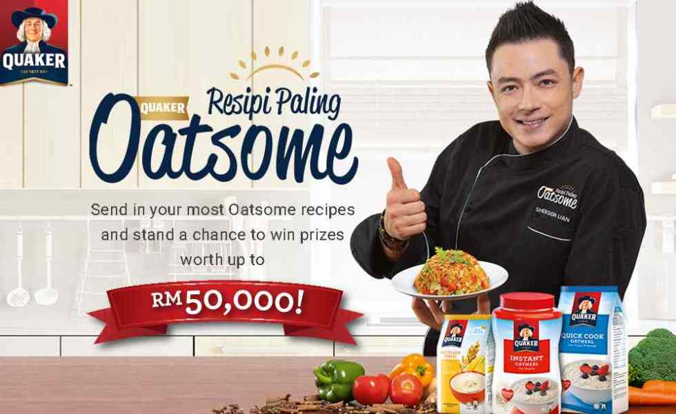 Win Prizes Worth Up to RM50,000 at Quaker Malaysia