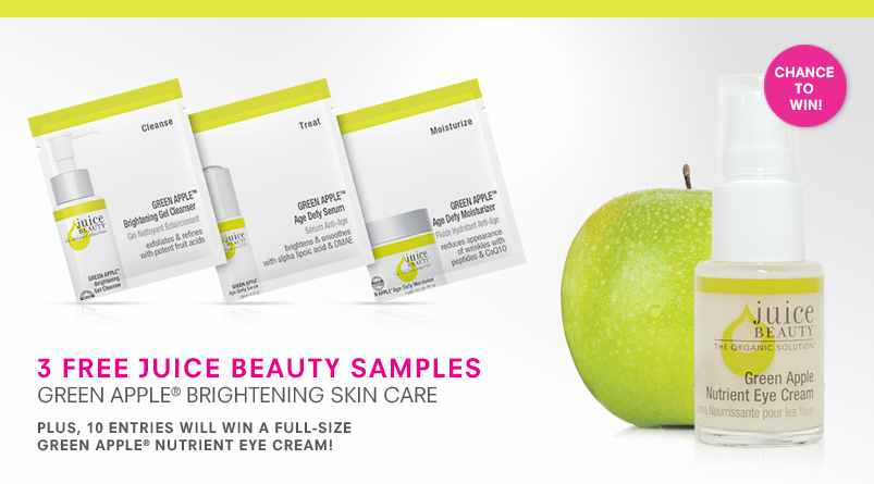 3 Free Juice Beauty Samples