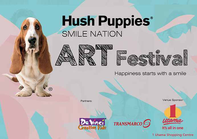 JOIN THE SMILE NATION ART COMPETITION AT HUSH PUPPIES MALAYSIA