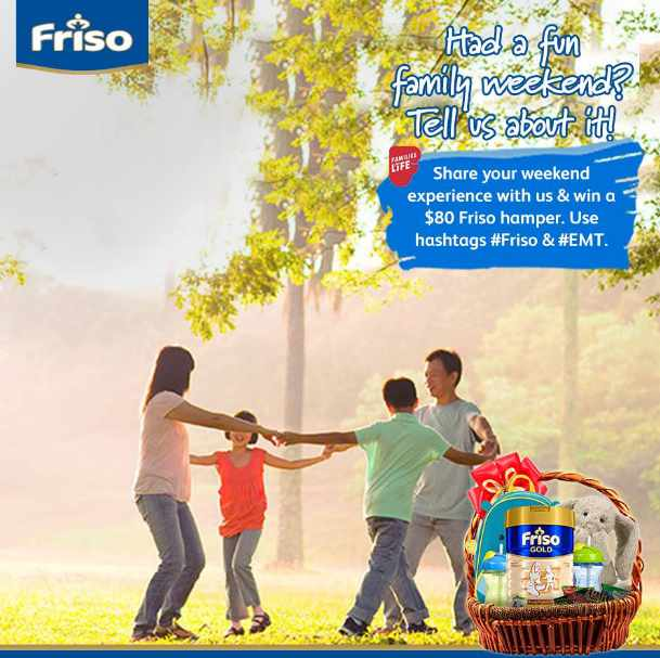 N a $80 Friso Hamper at Friso Singapore