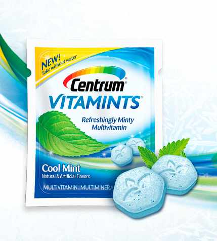 New Centrum Vitamins Try them for free!