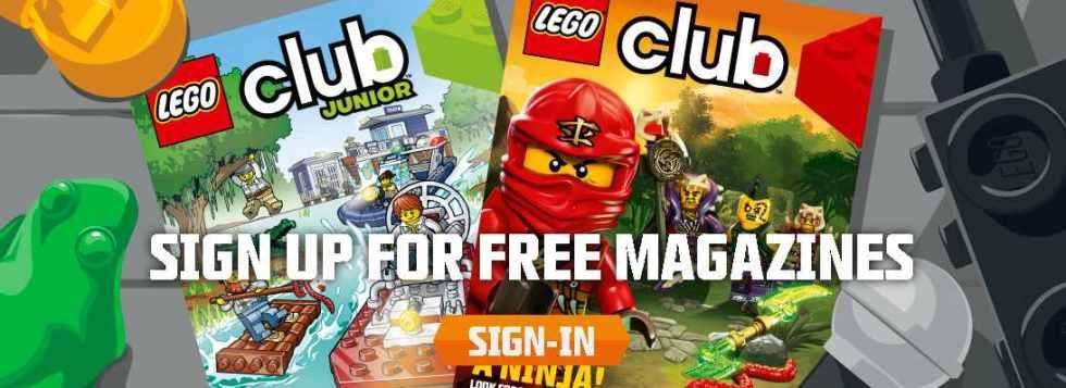 Sign up for free Logo Club Magazine