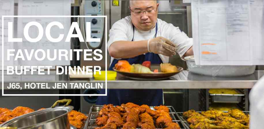 Stand a chance to win a complimentary buffet dinner for two at J65 - Hotel Jen Tanglin Singapore