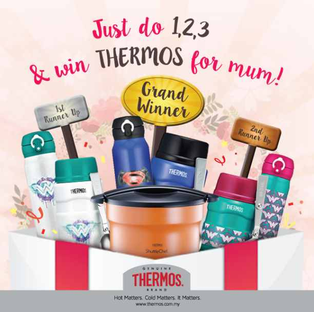 THERMOS 'Warm Your Mum's Heart' Contest!