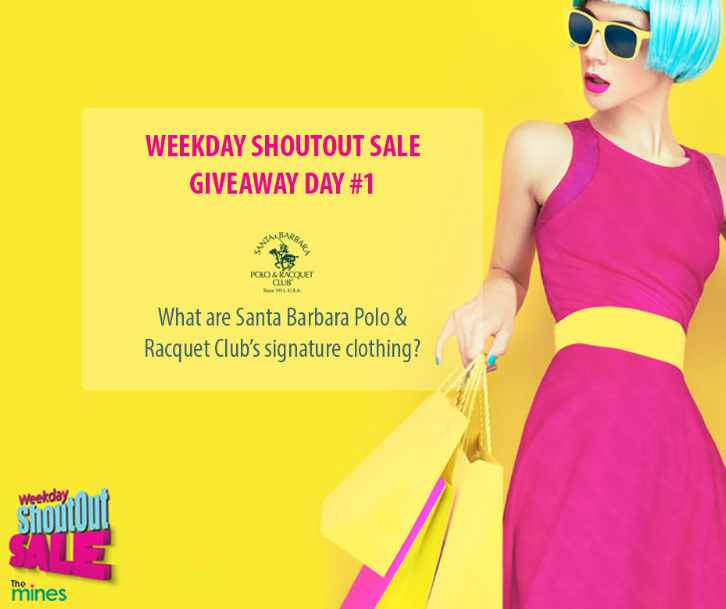 #WIN Santa Barbara Polo & Racquet Club vouchers at The Mines Shopping Mall