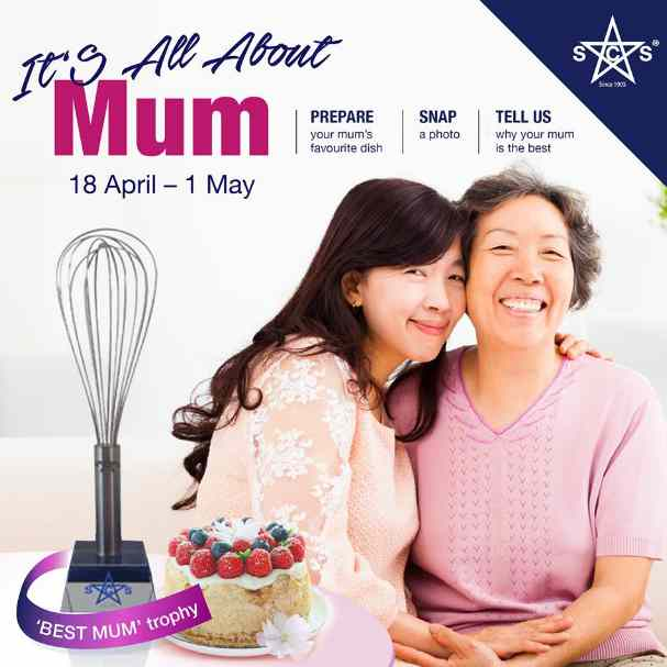 Win 'BEST MUM AWARD' trophies at SCS Dairy Singapore