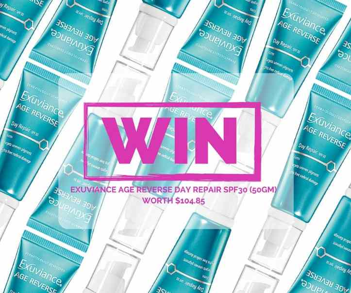 #Win Age Reverse Day Repair SPF30 at Exuviance Singapore