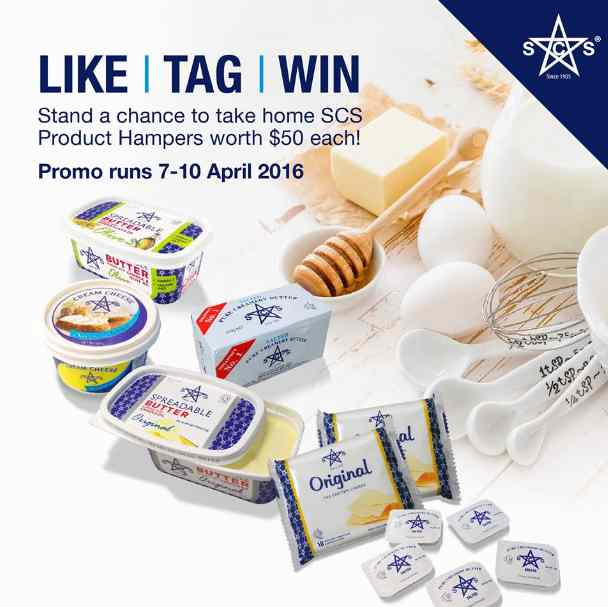 #Win Hamper worth $50 at SCS Dairy Singapore