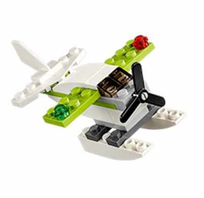 Come build this LEGO® Seaplane model and take it home for FREE after!