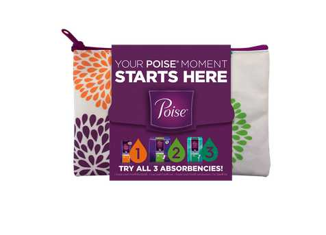 #FREE Poise® Starter Pack For Light Leaks