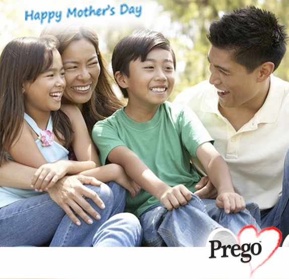 Share a family moment and Prego will print it and post it to you