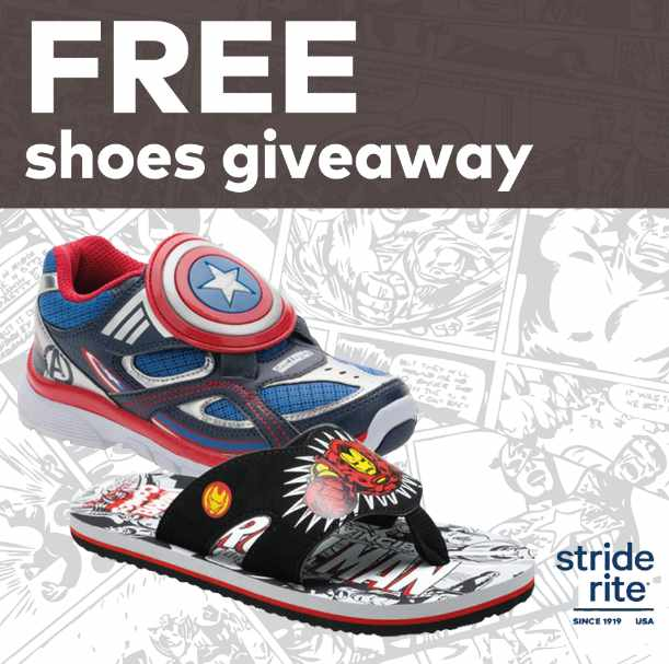 #WIN NEW Captain America light-up sneakers at Stride Rite Singapore