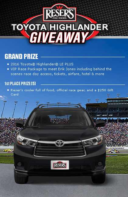 #WIN a 2016 Toyota® Highlander® LE PLUS