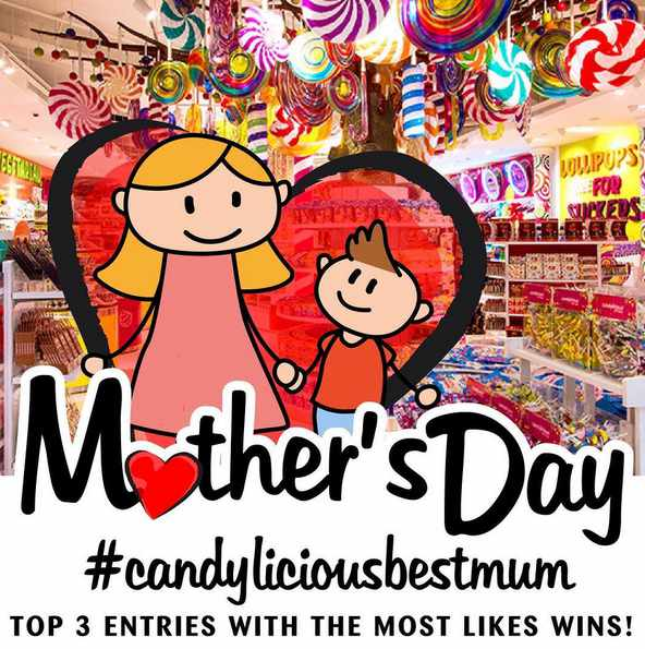 #Win Candylicious S$100 Cash Voucher this May