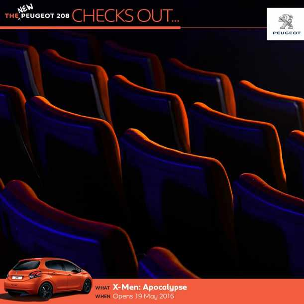 #Win a pair of Golden Village movie tickets at Peugeot