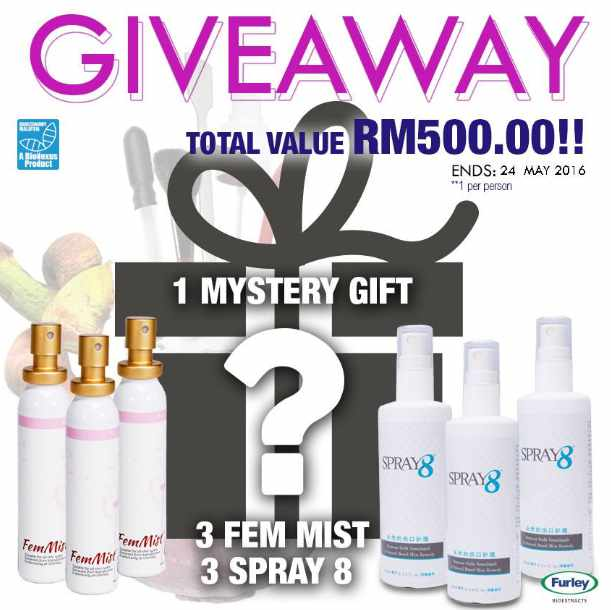 #Win gifts at Furley Bioextracts Sdn Bhd