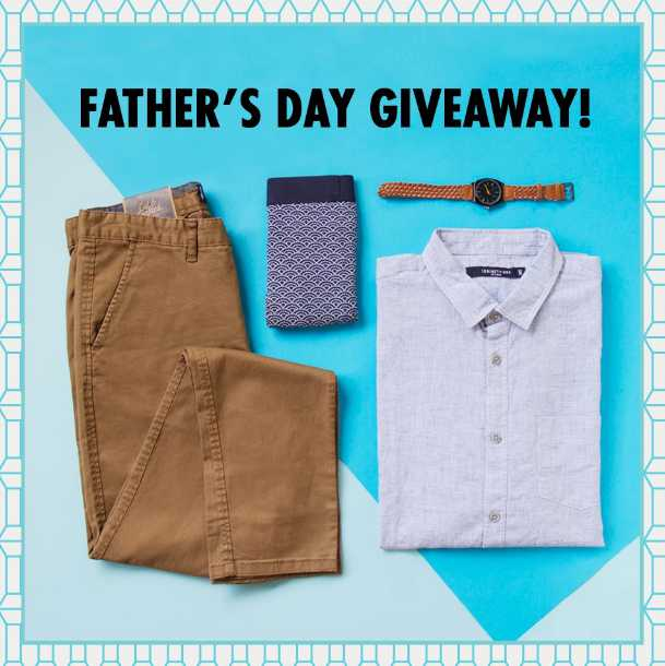 Father's Day Giveaway at Tiong Bahru Plaza