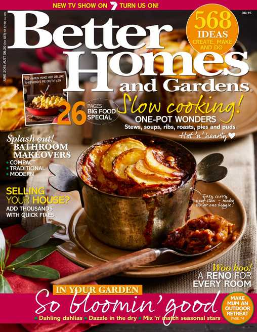 #Free one year subscription to Better Homes and Gardens