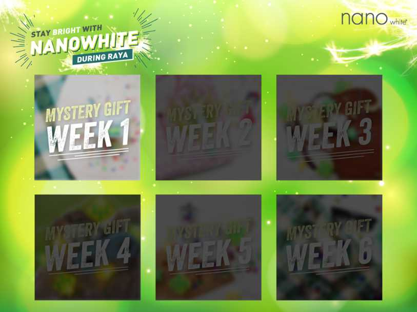 Stay Bright with Nanowhite During Raya contest
