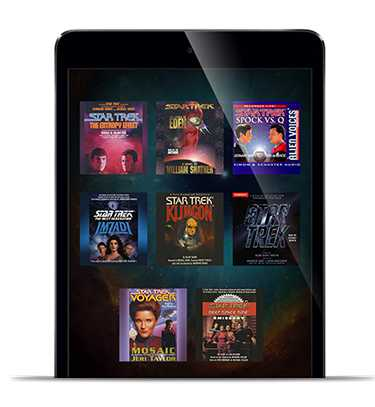 The Star Trek Audiobook Sweepstakes