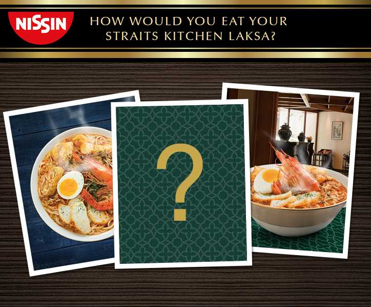 #WIN 1 carton of Straits Kitchen Laksa to 5 winners at Nissin Foods Singapore
