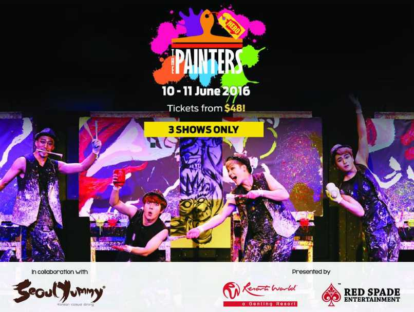Win a pair of tickets to catch THE PAINTERS HERO live at Resorts World at Sentosa