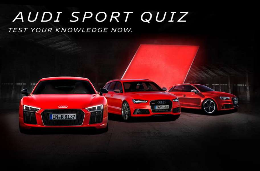 #Win an exclusive Audi Sport pack