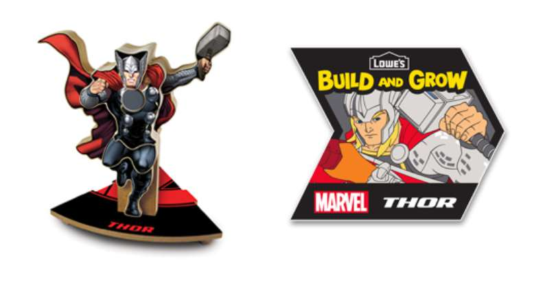 #FREE Marvel's Thor at Lowe's
