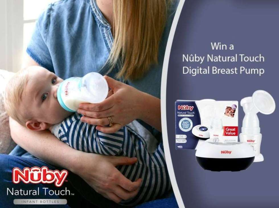 #Nuby Natural Touch Digital Breast Pump Giveaway