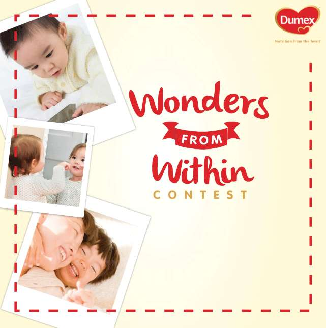 Share with us pictures of your baby's WONDER moments at Dumex Singapore