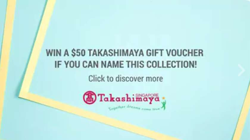 #WIN a $50 Takashimaya Gift Voucher if you can identify this collection of wristwatches