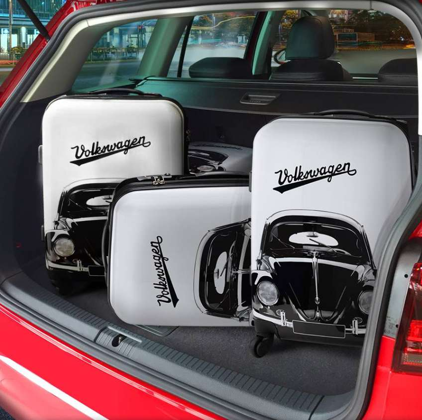 #Win exclusive Volkswagen merchandise Guess how many pieces of luggage do you think we can fit into the boot of the Golf Variant