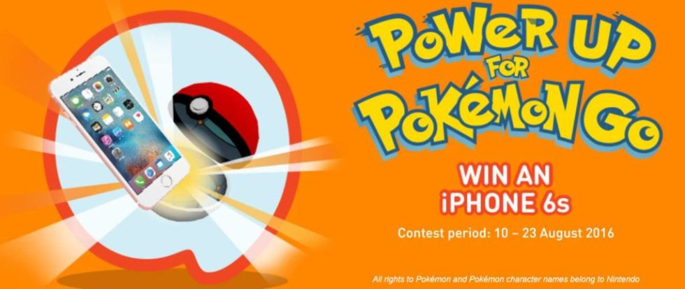 Calling all Pokémon Trainers – you could win iPhone 6s