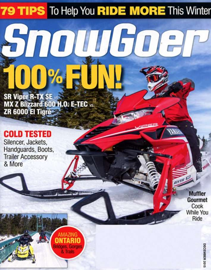 #FREE one-year subscription to Snow Goer Magazine