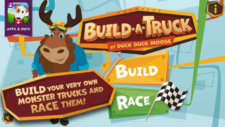 Free iOS App Build A Truck - by Duck Duck Moose