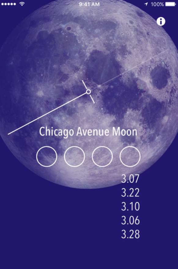 #Free iOS App Chicago Avenue Moon