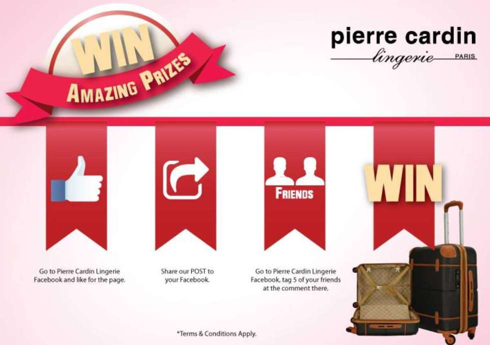 PIERRE CARDIN HANDCARRY LUGGAGE GIVE AWAY FOR #FREE