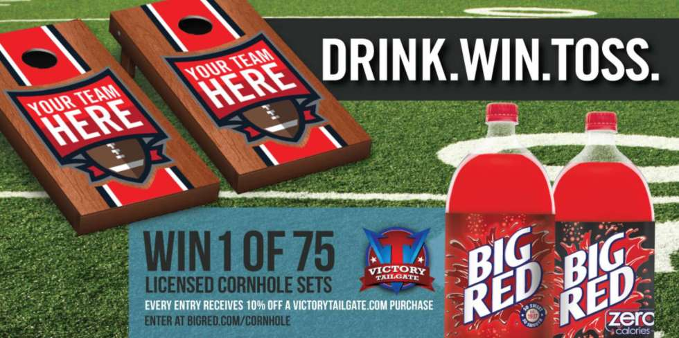 "Big Red's ""Drink. Win. Toss."" Giveaway"