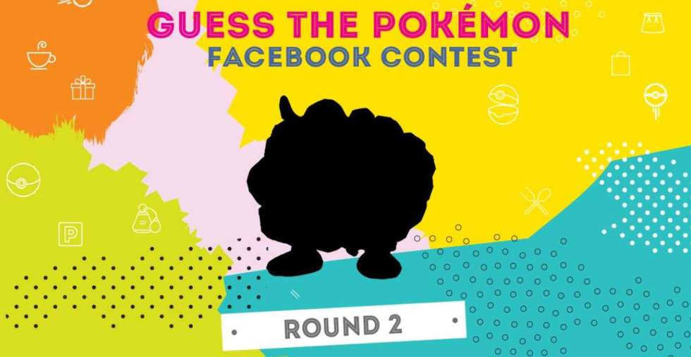 Guess the Pokemon contest Round 2 at Anchorpoint, Singapore