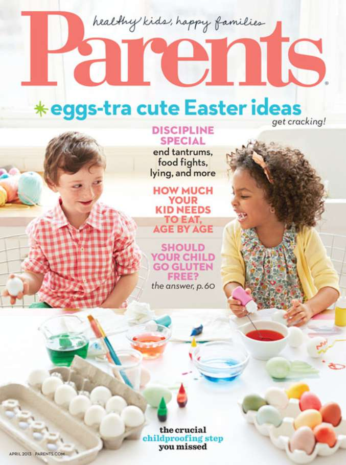 Sign up here for a complimentary one year subscription to Parents Magazine