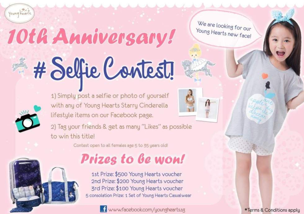 simply-post-a-selfie-with-starry-cinderella-collection-on-young-hearts-fb-win-500-young-hearts-voucher