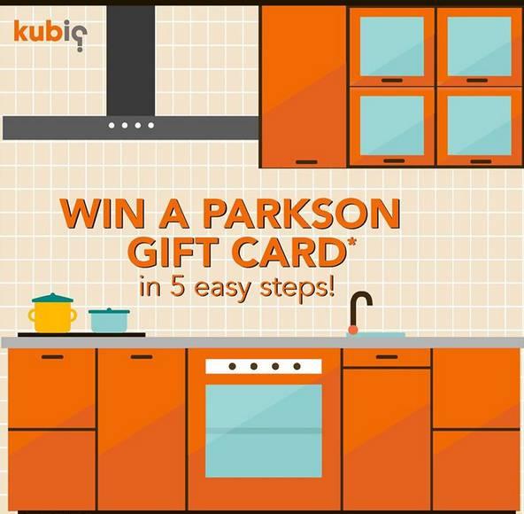 kubiq kitchen price estimator contest giftout free giveaways