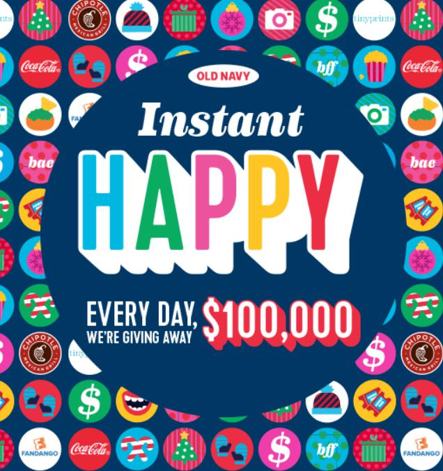 old-navy-instant-happy-2016-enter-for-a-chance-to-win-100000