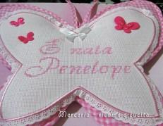 coccarda-fiocco-nascita-farfalla-Penelope-2